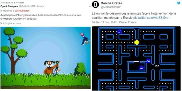 """La Russie utilise un jeu vidéo comme preuve """"irréfutable"""" et se fait moquer par Twitter - La DH"""