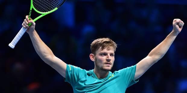 Masters : Goffin efface Thiem et s'offre une demi-finale face à Federer - La DH
