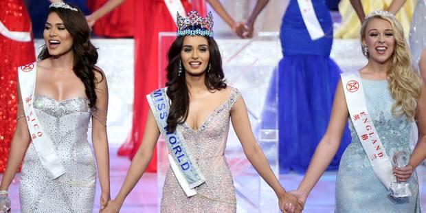 Une Indienne, étudiante en médecine, sacrée Miss Monde (PHOTOS) - La DH