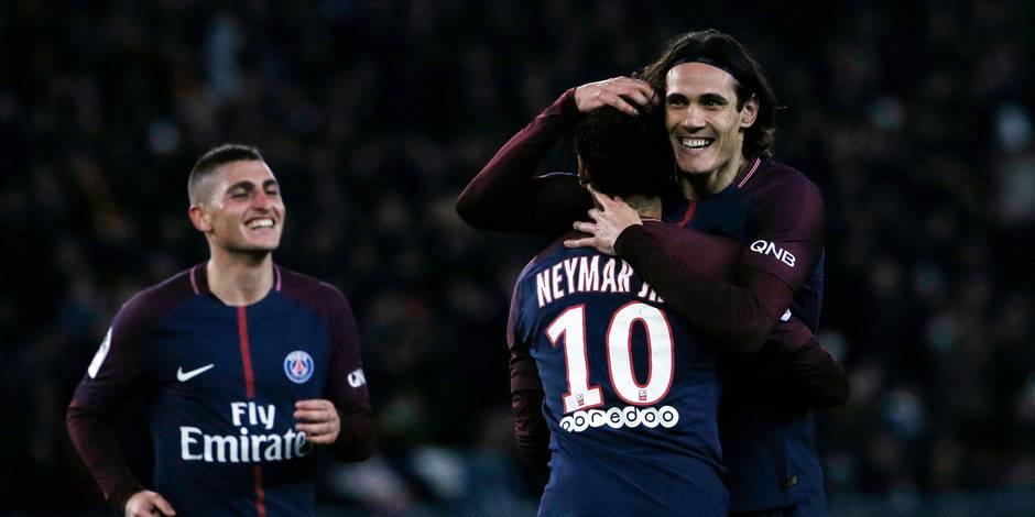 Le Paris SG creuse l'écart en tête, sans forcer contre Nantes