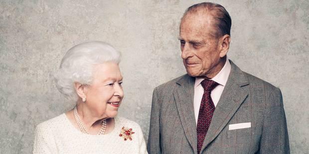 La reine Elizabeth II et le prince Philip fêtent leurs noces de platine - La DH