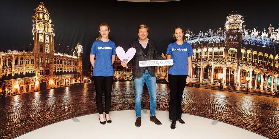 Visite au coeur des entrailles belges de Facebook (PHOTOS) - La DH