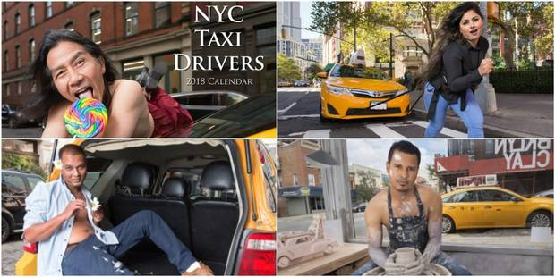 Le calendrier plein de second degré des taximen new-yorkais - La DH