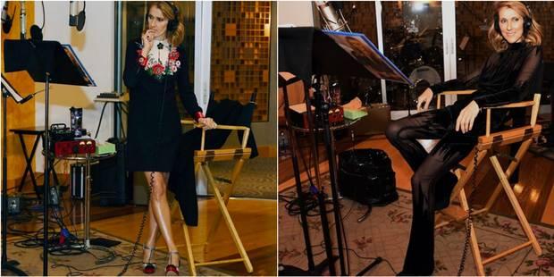 Céline Dion stylée jusqu'au studio - La DH