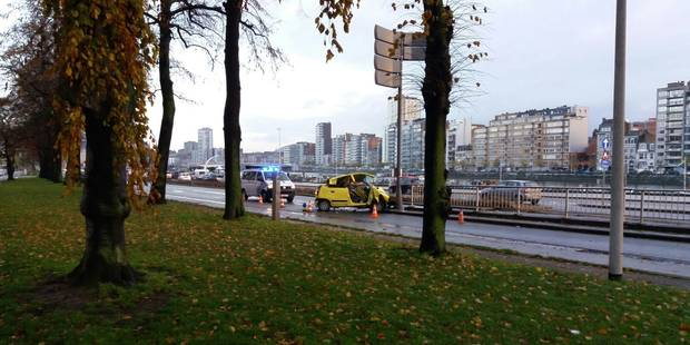 Deux blessés graves dans un accident de circulation à Liège - La DH