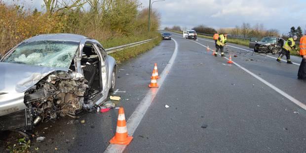 Deux blessés graves à Rebaix, le pronostic vital engagé pour un des deux conducteurs - La DH