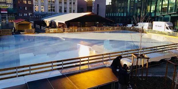 Préparez vos patins, la patinoire ouvre demain - La DH