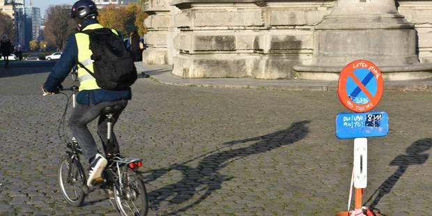 Les jours d'un cycliste en danger après un accident de la circulation à Molenbeek - La DH