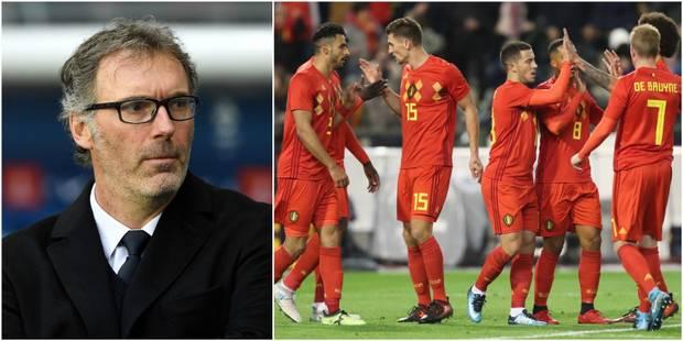 """Laurent Blanc parle des Diables rouges: """"On voit qu'il lui manque encore quelque chose à cette équipe"""" - La DH"""