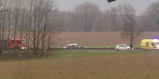 Nouvel accident impliquant un tracteur sur la N25 à Genappe : 4 kilomètres de files recensés - La DH