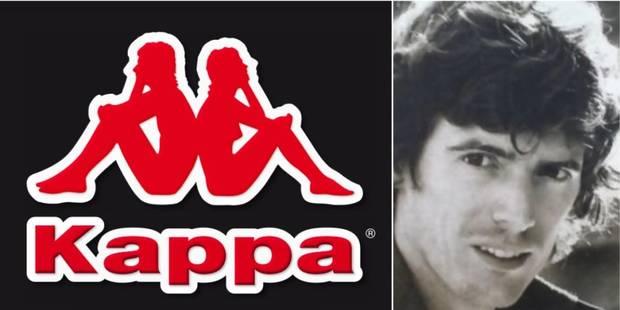 Pour ses 50 ans, la marque Kappa a retrouvé l'homme sur son logo - La DH