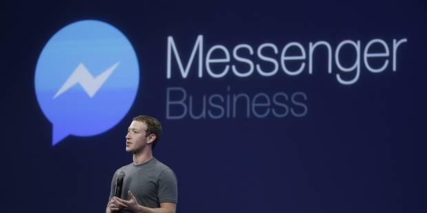 Facebook lance une version de Messenger pour enfants - La DH