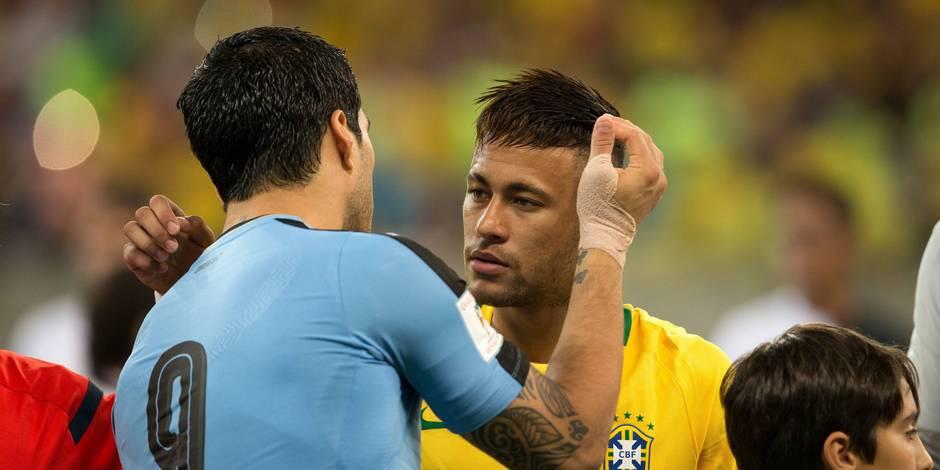 Luis Suarez ne voit pas Neymar porter un jour les couleurs du Real Madrid