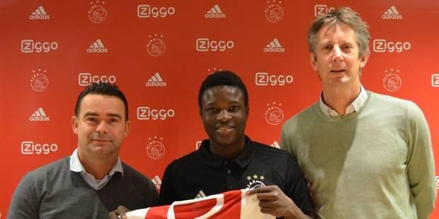 Transfert record pour le FC Malines, qui cède Hassane Bandé à l'Ajax Amsterdam - La DH