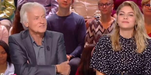 """Cette blague de Dave à Louane crée le malaise sur le plateau des """"Enfants de la télé"""" (VIDEO) - La DH"""