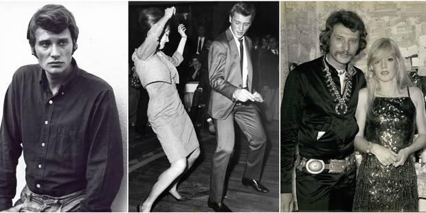 Johnny Hallyday, une vie à la pointe du style - La DH