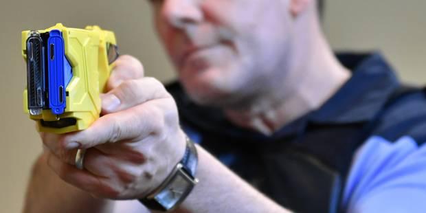Le taser bientôt en test dans les zones de police Midi et Ouest - La DH