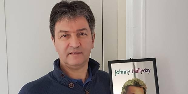 Il est devenu champion de Belgique d'orthographe juste avant le concert de Johnny - La DH