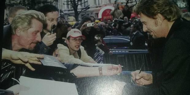 """À Gerpinnes, le sosie Johnny Flash partira à Paris au milieu de la nuit pour """"dire adieu"""" à son idole - La DH"""