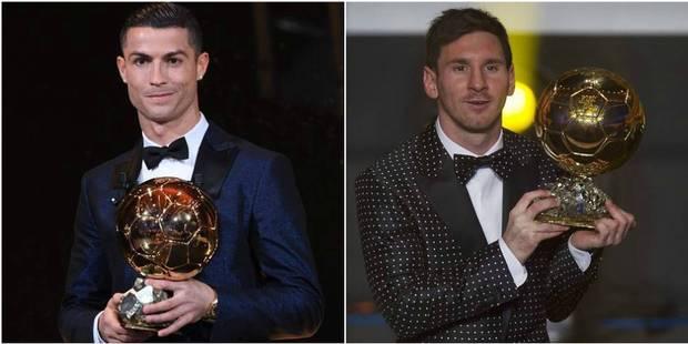 Ballon d'or: les dix années de règne de Cristiano Ronaldo et Lionel Messi - La DH