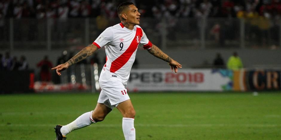 Le capitaine péruvien Paolo Guerrero suspendu un an pour dopage