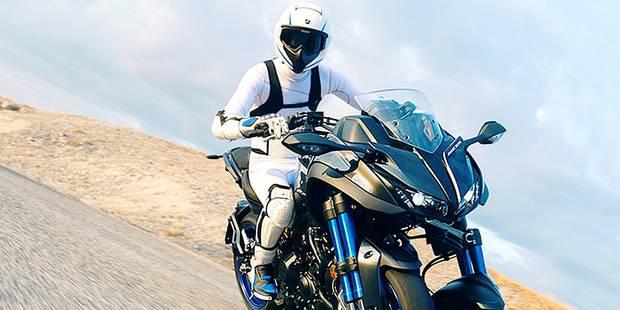 La première (vraie) moto à trois roues! - La DH