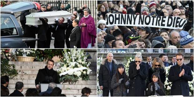 La foule et les célébrités présentes en masse pour rendre hommage à Johnny Hallyday - La DH