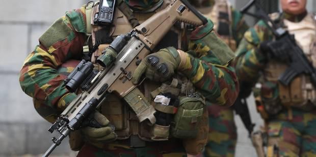 Des militaires rattrapent un fauteur de troubles à Ixelles - La DH