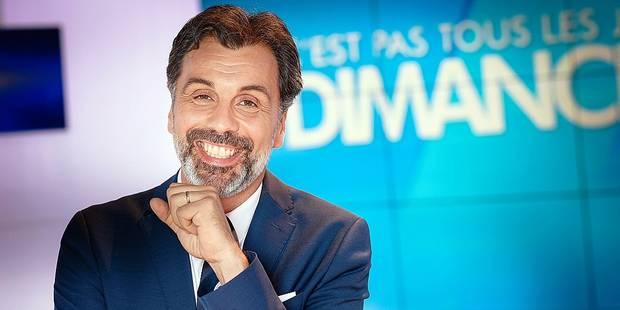 """Christophe Deborsu fête la 100e de C'est pas tous les jours dimanche : """"On a toujours la boule au ventre"""" - La DH"""