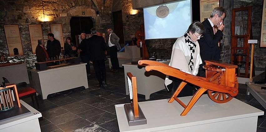 Léonard de Vinci à l'abbaye de Villers