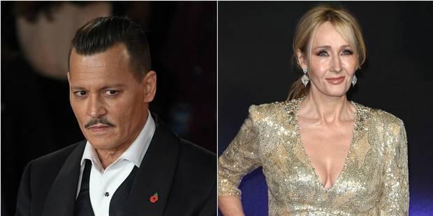"""Pour J.K. Rowling, ce sera Johnny Depp dans """"Fantastic Beasts"""" et puis c'est tout ! - La DH"""