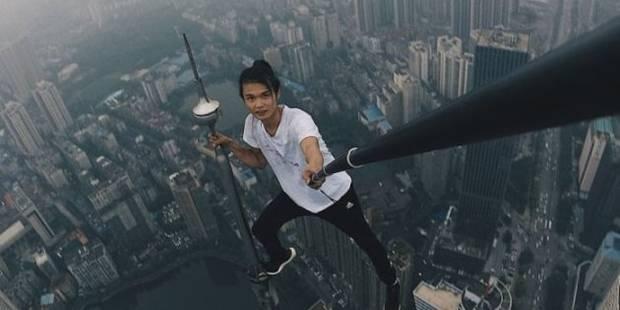 """Chine: un célèbre """"rooftopper"""" tombe du haut du 62ème étage - La DH"""