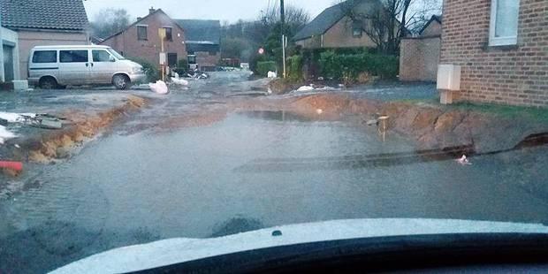 Ittre: Une rue transformée en étang ! - La DH