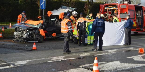 Violente embardée à Froyennes : Un blessé grave - La DH