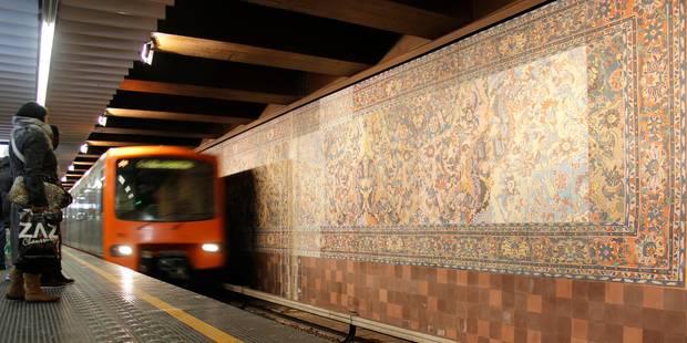 Une personne mortellement percutée par un métro à la station Simonis - La DH