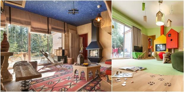 A la découverte d'un Center Parcs d'un nouveau genre avec des cottages thématiques - La DH