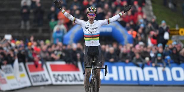 Coupe du monde de cyclocross: Démonstration de Wout Van Aert sur la Citadelle de Namur - La DH