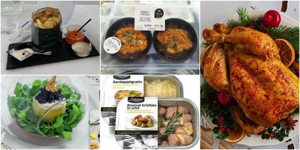 Des repas de fête sans se casser la tête grâce aux plats préparés des grandes surfaces - La DH