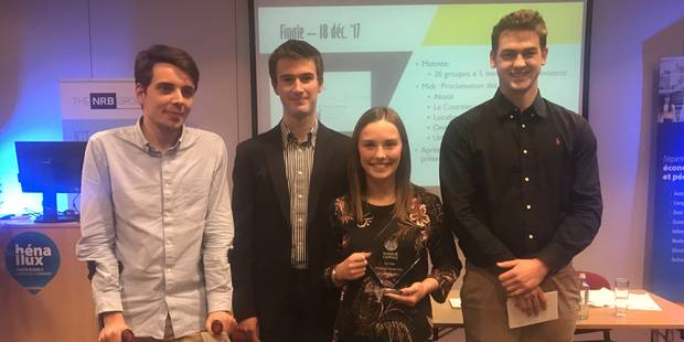 "Namur: ""One Time Garden"" remporte le Hénallux Namur Smart City Challenge - La DH"
