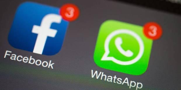 """WhatsApp assure transférer """"très peu de données"""" vers Facebook - La DH"""