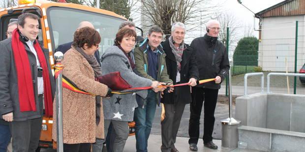 Thuin: Le centre de transfert des déchets a été inauguré - La DH