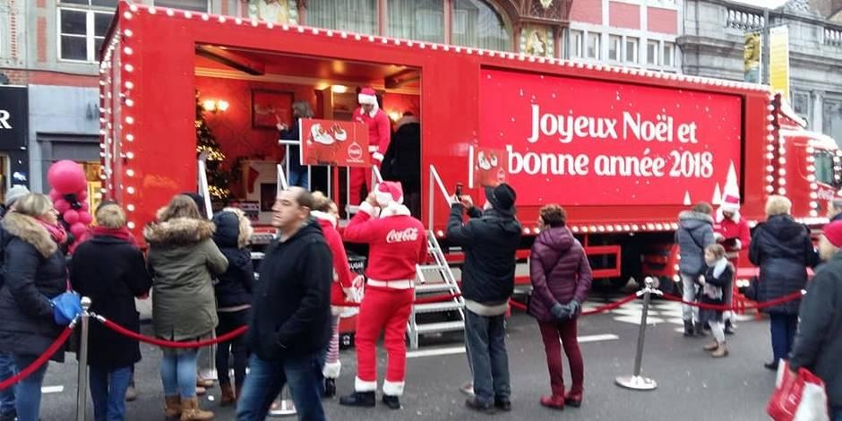 camion coca cola noel 2018 belgique Camion Coca cola: les Namurois furieux! (PHOTOS)   La DH camion coca cola noel 2018 belgique