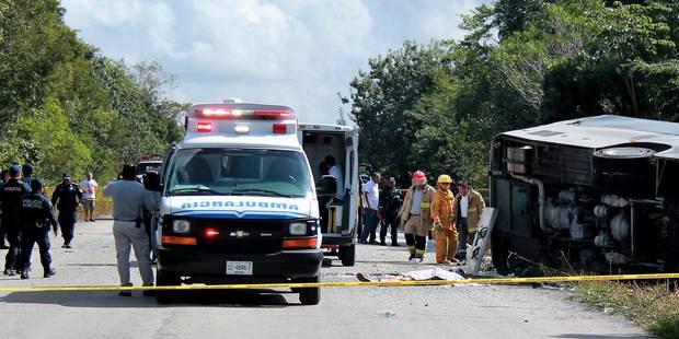 Mexique: 12 touristes tués dans un accident de car - La DH