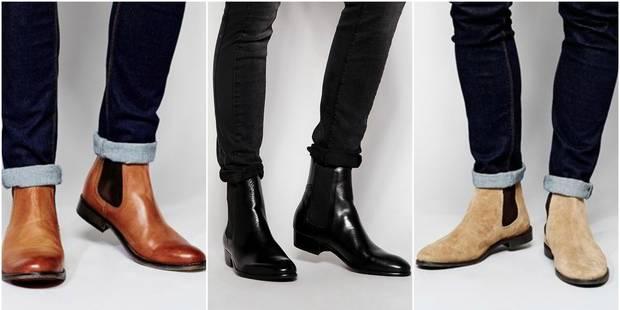 Homme : L'histoire des Chelsea boots, les bottines aussi pratiques qu'élégantes - La DH