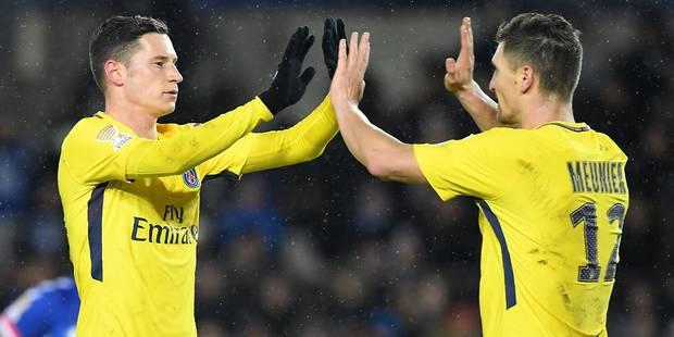 Le PSG défie Caen avec Meunier titulaire - La DH