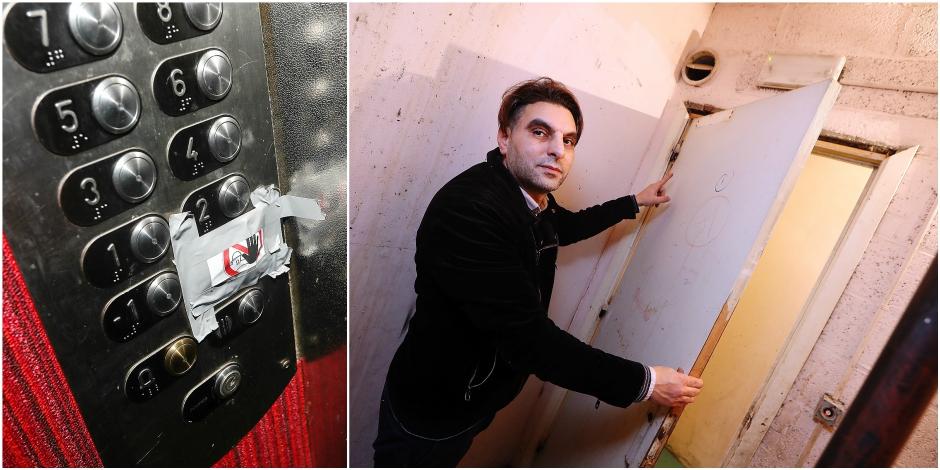 """Molenbeek: la sécurité d'un immeuble social pose question: """"Les portes coupe-feu sont en bois"""" - La DH"""