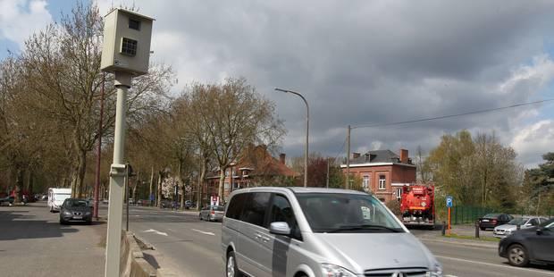 65.000 excès de vitesse en 6 mois ont été constatés dans le Brabant Wallon - La DH