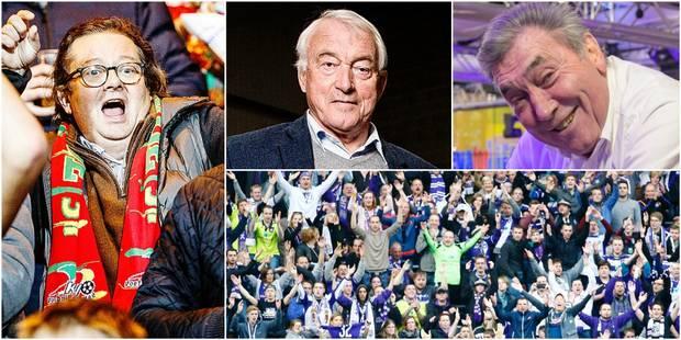 Des anciennes gloires bruxelloises aux supporters ostendais et mauves, les réactions au rachat du RSCA par Marc Coucke -...