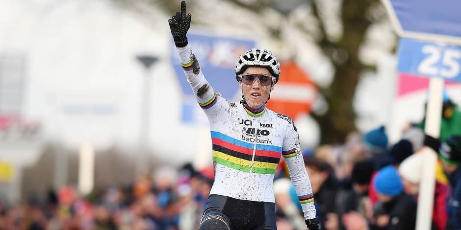 Cyclo-cross: battue, Sanne Cant était en route pour sa 100e victoire au top niveau - La DH