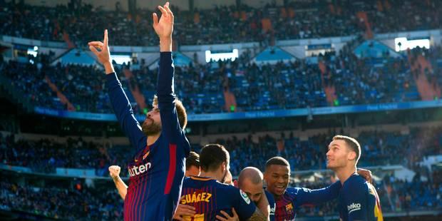 Liga: le Barça porte le coup de grâce au Real et profite d'une défaite de Valence pour s'envoler en tête - La DH